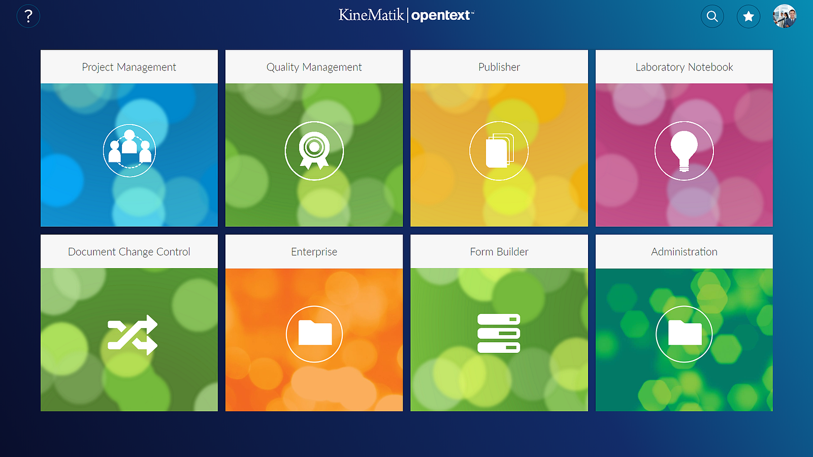 OpenText Solutions for Content Suite by Kinematik